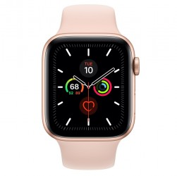 APPLE WATCH 5 - 44MM - GPS+LTE (Gold Aluminum Case with Sport Band)